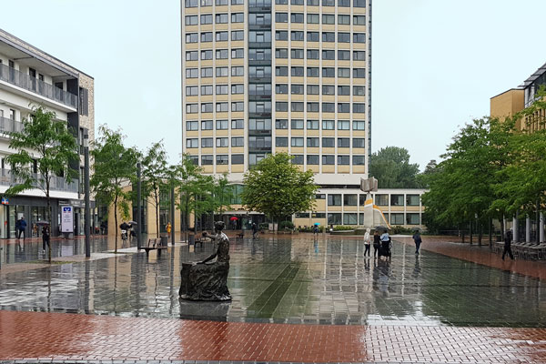Willy Brandt Platz  in Lünen